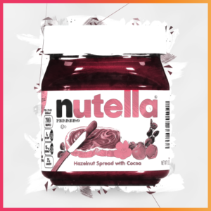 10 Iconic Brands that Evolved their Recipes - Nutella Illustration