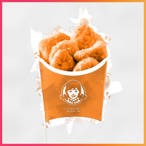 10 Iconic Brands that Evolved their Recipes - Wendy's Chicken Nuggets Illustration